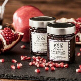 Pflaume Granatapfel Konfitüre Extra 85% 180g