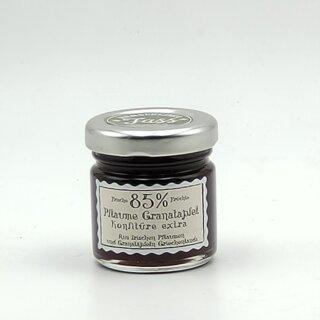 Pflaume Granatapfel Konfitüre Extra 85% 40g